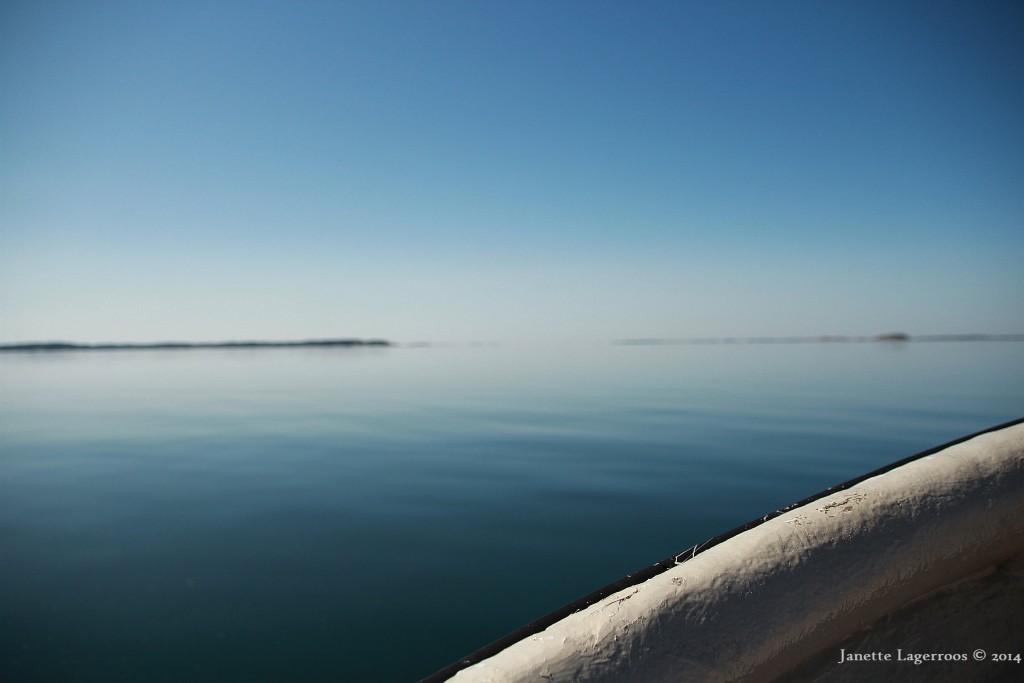Jag längtar ut. En gång per sommar behöver jag få njuta av vårt härliga hav.